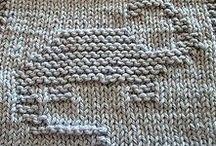 knitting dishclothes