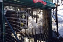 Rolling security grilles at the Bronx Zoo! / Rolling security grilles at the Bronx Zoo!  Another installation by our SuperTechs!