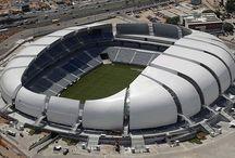 Футбольные стадионы мира. / Футбольные стадионы - чудеса архитектуры.