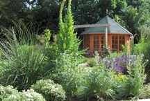 Cottage garden with low maintenace