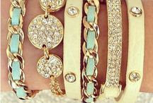 Stacked bracelets / by Chelsey Marica
