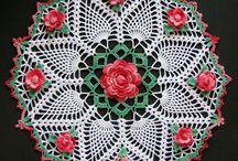 Crochet dolies