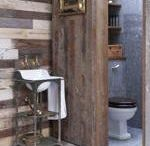 Rustic Baths / Rustic Bath Decor