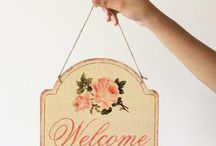 Welcome Signs & more Home Decor free Shippingnow!