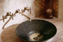 salle de bain oriental