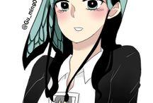 my drawing / Korea wetoon / '이런 영웅은 싫어(I hate this hero)' - Lady / request art.