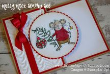 Merry Mice Christmas Cards