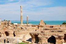 Carthage Tunisia / Can't wait to go to this ancient Mediterranean port to research my Time Travel Novels
