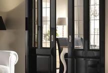 Puertas con vidrio esmerilado