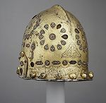 Cabasset helmets (Only historically accurate) / Early modern period (1492 – 1750) European helmets of the type cabasset / capacete.  Closely related to, and often confused with morion type helmet. This list includes Pikeman's pots and one Hispano-Moresque helmet also.