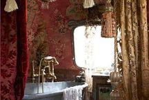 Gypsy bathroom
