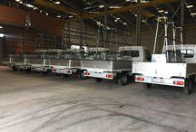 Equipamiento para flotas de furgonetas portacristales / Descubre uno de nuestros últimos equipamientos para una flota de furgonetas portacristales.