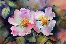 Watercolor ~ Flowers
