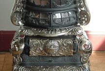 Antique Stoves, kitchen stuff / by Judith Cameron
