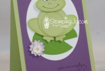Cards - Misc - Animals / handmade cards featuring animals of all types / by Jan N