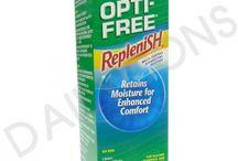 CONTACT LENS SOLUTION / 眼藥水種類很多,有普通的眼藥水也有專門針對帶Con滴的眼藥水。而隱形眼鏡藥水也分軟性隱形眼鏡盒硬性隱形眼鏡這兩大類,然後再細分洗、沖、浸,三種功能的藥水,當然,還有一類就是齊集這些功能的多功能藥水,最後的一類便是用於除蛋白的藥水。