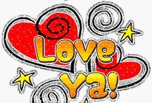 I Love U /  LIKE MY WEBSITE