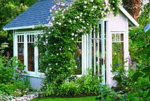 Garden Shed with Cottage Style / We are currently building a garden shed ( cottage style) These are some others I like too