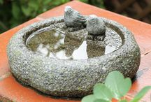 Ideas to bird bath