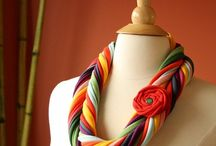 SCARF STYLES  /  TSHIRT CRAFTS / by Beverly Knous