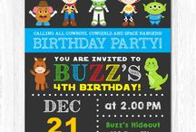 William future Birthday Party TOY STORY!
