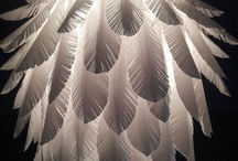 Paper, plastic, fabric & feather