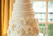 Wedding cakes and candy tables