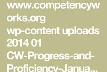 competency-based rubric design