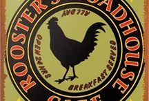 Chicken And Rooster Signs And decor