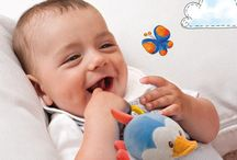 Play and Grow Up with Trudi / A range of articles dedicated to newborns, designed to develop their sensory and psychomotor abilities, to accompany them in their growth.