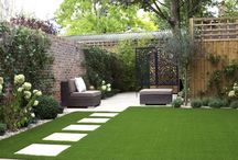 Get the Look | Artificial Grass / Get your garden ready for the summer season this spring!  Here is some inspiration to be able to create your perfect garden area!   https://www.bradfords.co.uk/garden-landscaping/turf-lawn/artificial-grass
