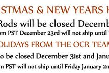Holiday Hours Banners