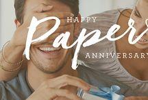 Paper Anniversary Ideas