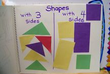 Colors and Basic Shapes / Hands on, active, and playful ideas for learning early math concepts. / by The Mailbox
