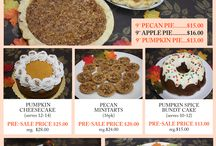 Thanksgiving 2014 Pre Sale / Exclusive Thanksgiving offers for a limited time only. Call our stores to place your order or visit our website to download the order form: http://www.eddascakes.com/thanksgiving-presale/