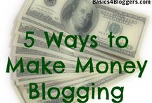 Blogging for Dollars /  Tips on making money from blogging / by shabnamahsan