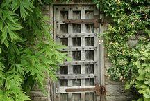 garden gates and doors