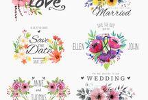 monogramas casamento