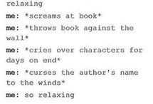 Funny things about books