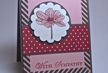 Sympathy Cards / Find inspiration for sympathy cards here