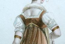 Female regency costume