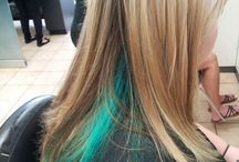 What color to highlight my hair / by Heather R