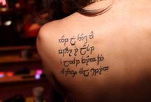 Quenya Tattoos / Idéias de tattoos