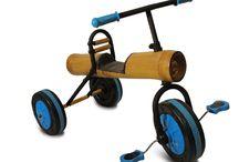 Triciclo de bamboo. / Triciclo de bambú para los más pequeños, de 2 a 6 años. Para divertirse sin cesar al aire libre! Resistente, seguro y original. Reducimos más de un 65% del uso del plástico!!!!