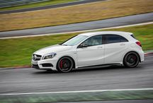 Mercedes-Benz A 45 AMG / Introducing the A 45 AMG - the most powerful 2 litre, four-cylinder series engine in the world, at a staggering 265 kW. Launching in South Africa this month, we can't wait for it to hit our roads!