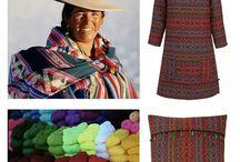 Collection INARI hiver 2014-2015 / Un voyage coloré entre l'Amérique du Sud et l'Afrique.
