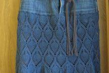 1a  punto. Falda crochet