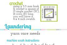 Crochet technieken, steken, tips en handigheidjes / handige tips en steken mbt haken