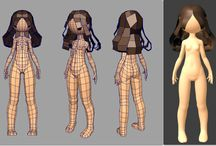 female characters (3D)