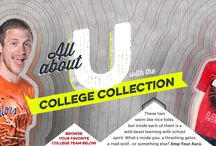 College Collection / We've got all your favorite college team gear!